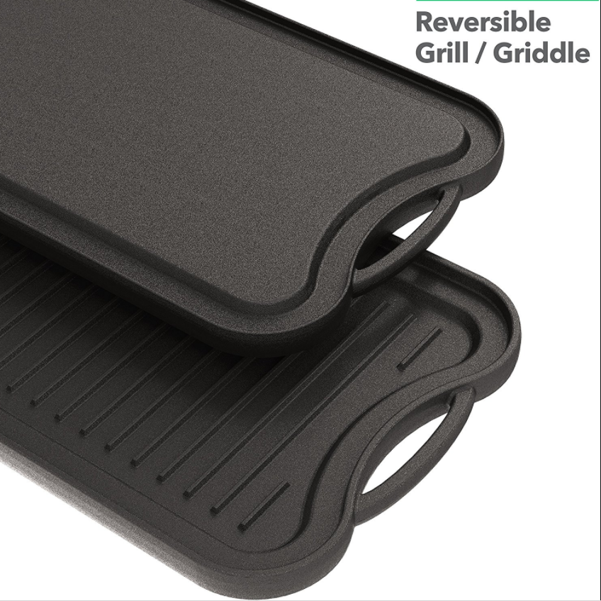 Vremi Heavyweight Champ Cast Iron Griddle
