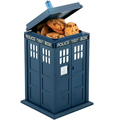 Doctor Who Talking Tardis Cookie Jar