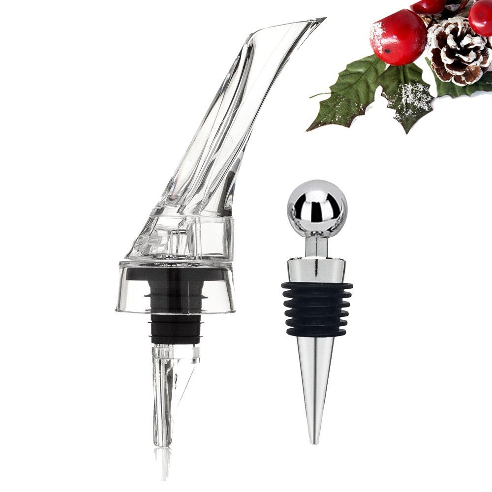 GSCW Wine Aerator & Decanter Pourer Gift Set