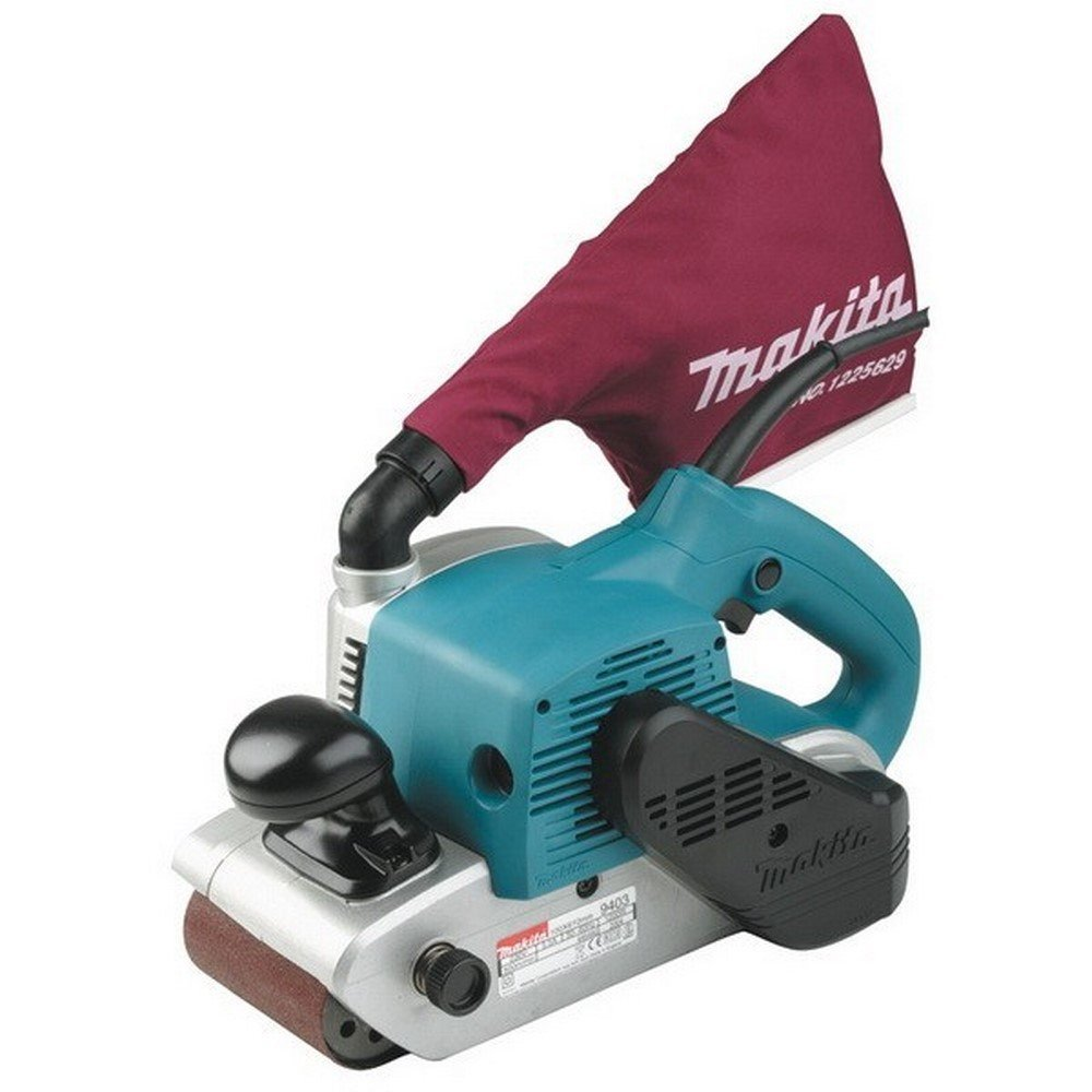 "Makita Belt Sanding Machine 4"" x 24"" With Dust Bag – Available in 5 Kits"