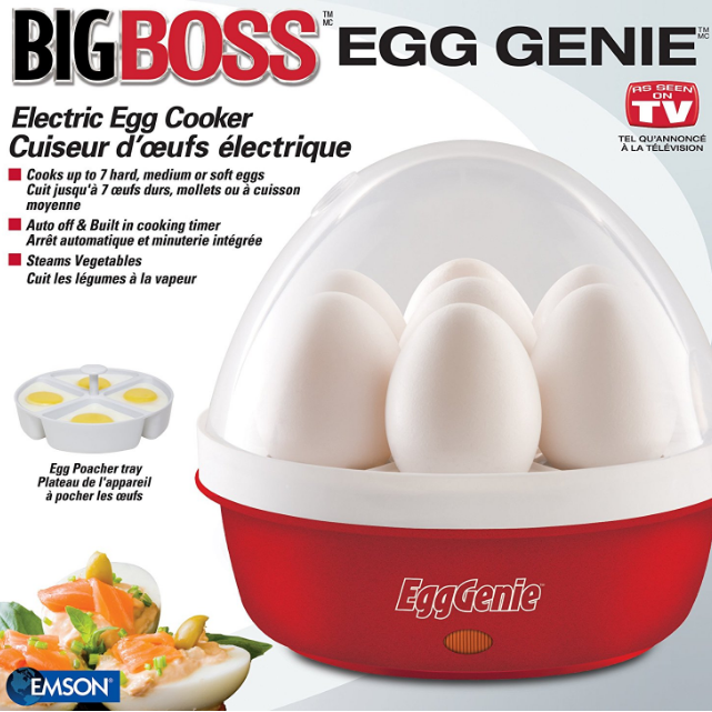 Big Boss Genie Electric Egg Cooker