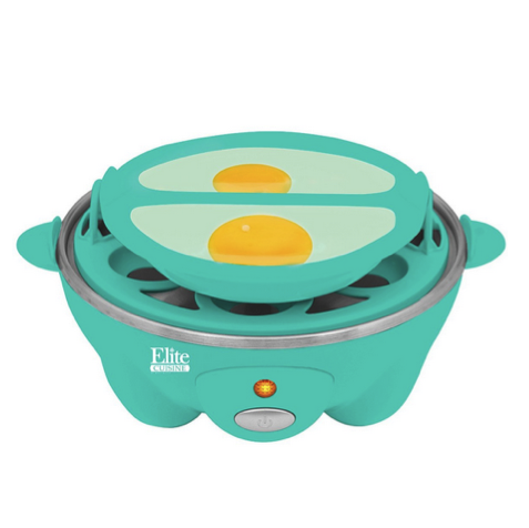 Elite Cuisine Automatic Easy Egg Cooker