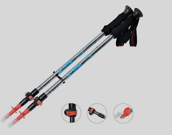 Mountaintop Retractable Trekking Poles