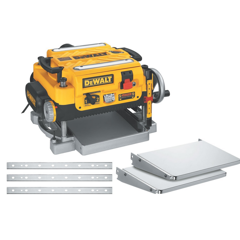 "Dewalt 13"" Two-Speed Planer Package - Includes Planer Stand with Integrated Mobile Base (Planer Also Sold Separately)"