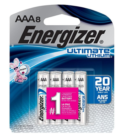 Energizer Ultimate Lithium AAA Batteries – Variety of Package Sizes Available