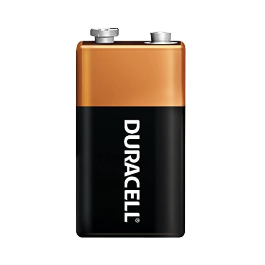 Duracell Coppertop 9 Volt Alkaline Batteries - Multiple Quantity Options Available