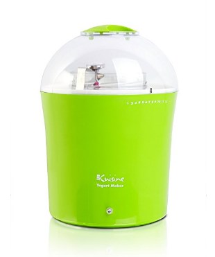 Euro Cuisine Yogurt and Greek Yogurt Maker - Available in Red or Green