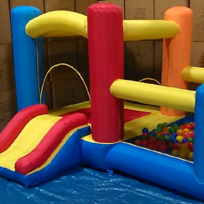 My Bouncer Little Castle Bounce House