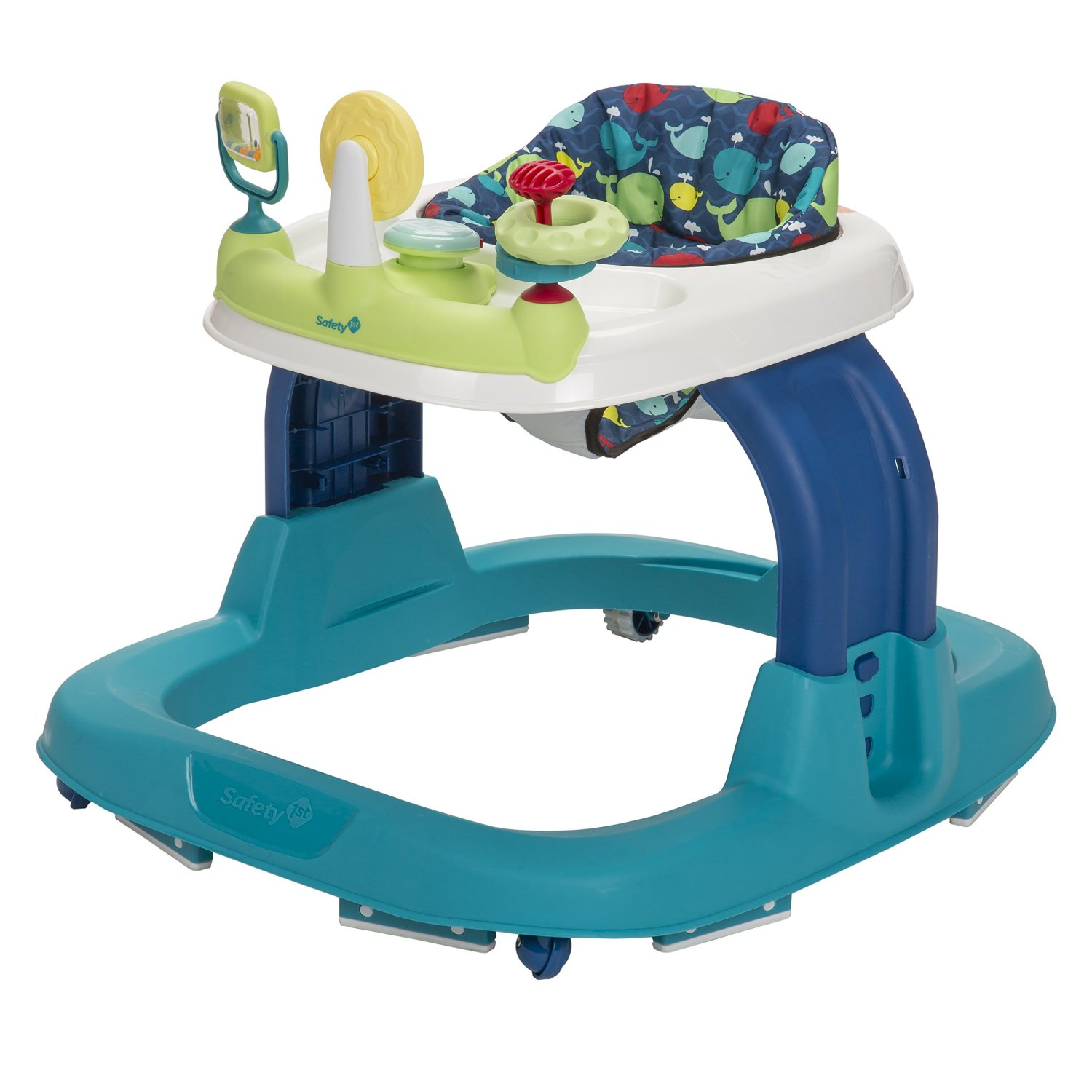 Safety 1st Ready, Set, Walk! Developmental Activity Walker – Five Color Options