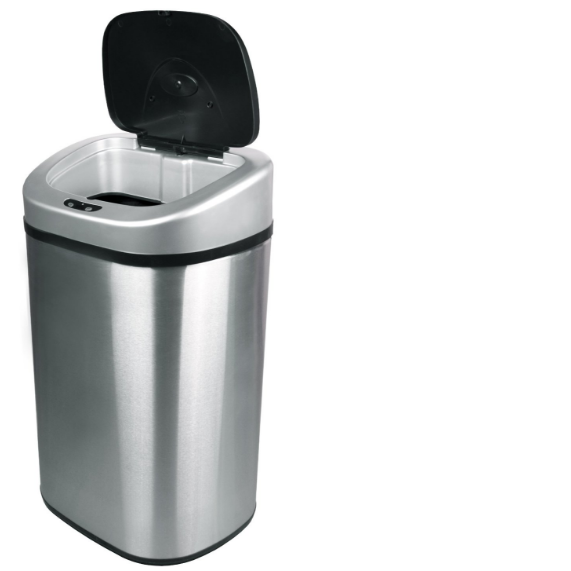 Nine Stars DZT-80-4 Infrared Touchless Trash Can