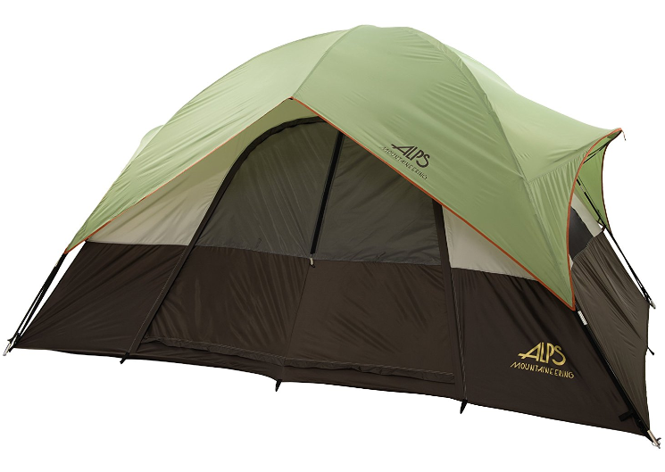 ALPS Mountaineering Meramac Two Room Tent - Fiberglass Poles and Oxford Floor