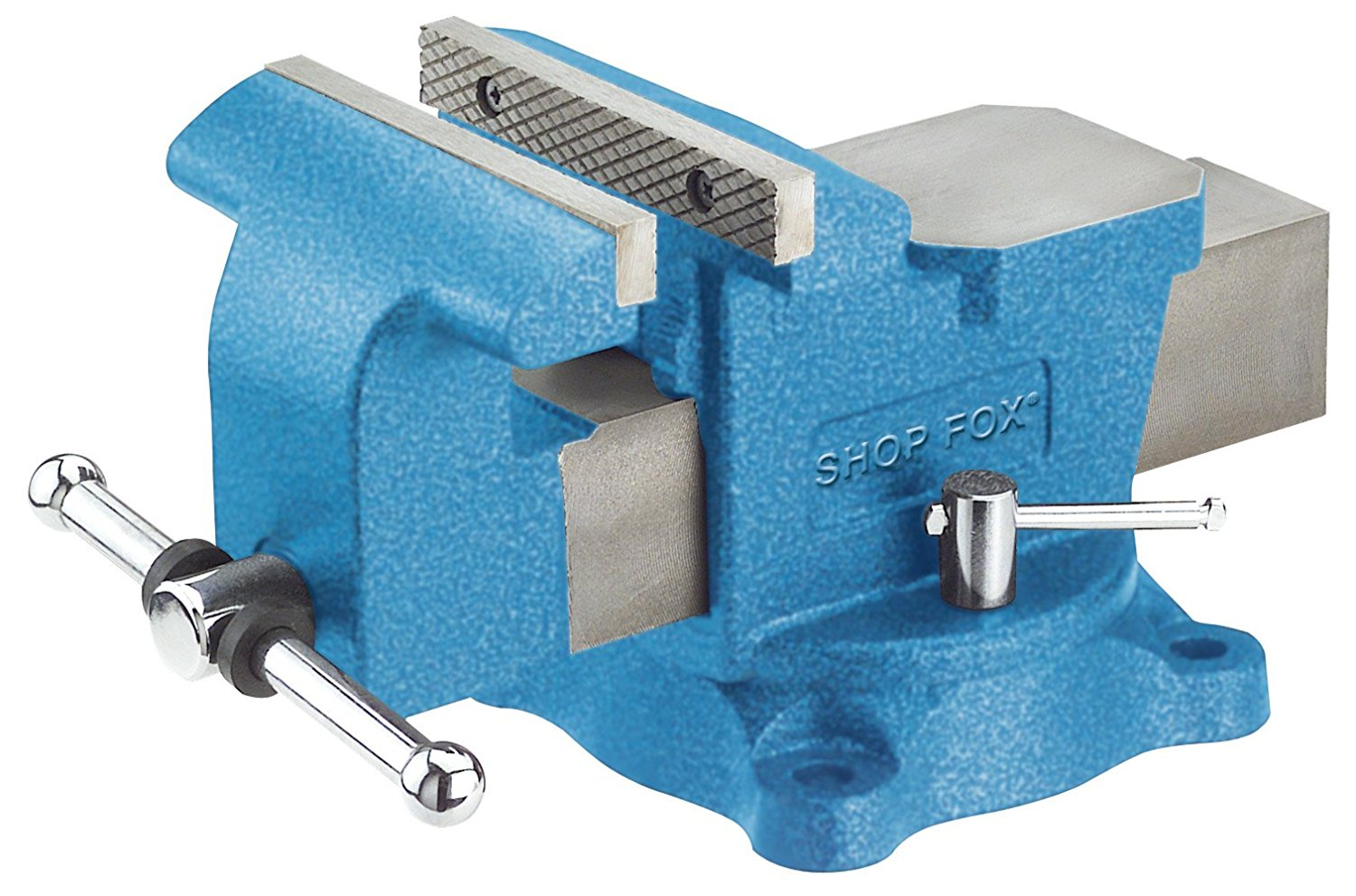 Shop FoxBench Bench Vise with Swivel Base