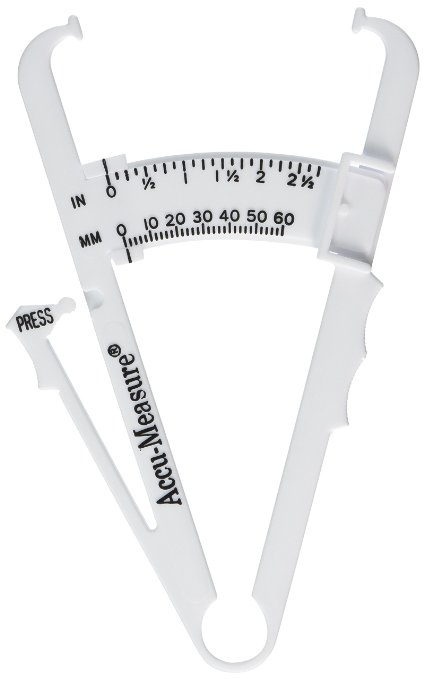 AccuFitness Accu-Measure Body Fat Caliper