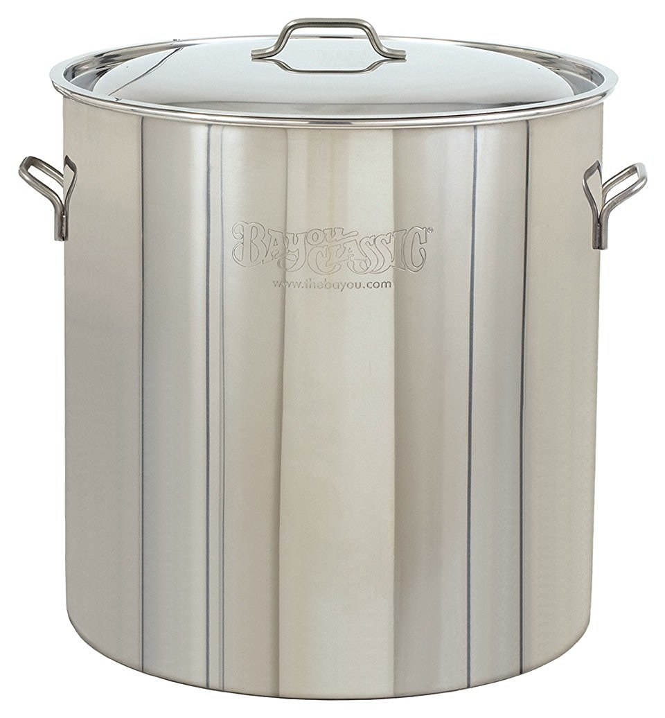 Bayou Classic Stainless Steel Pot & Lid