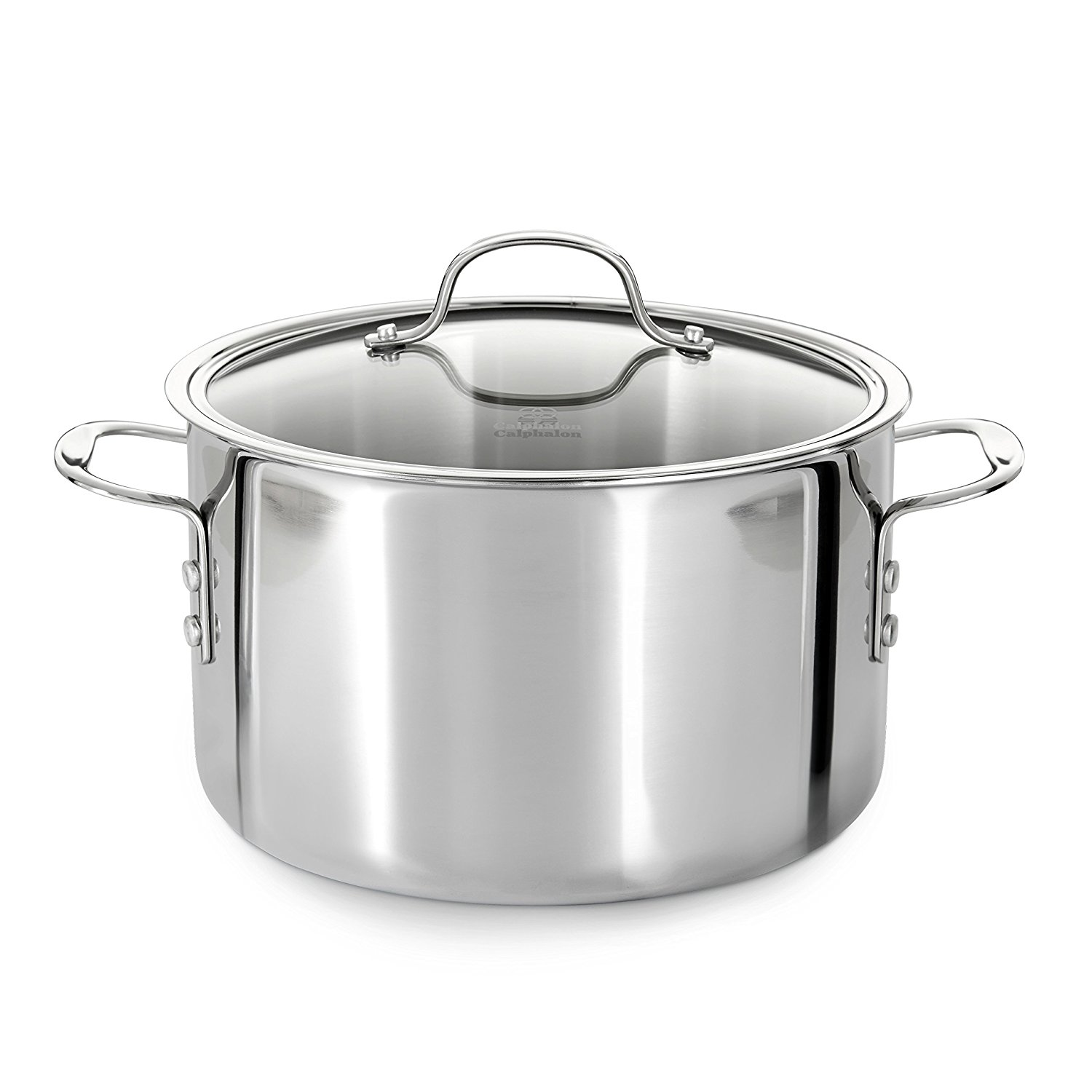 Calphalon Tri-Ply Stainless Steel 8-Quart Stock Pot with Cover – Other Cookware Also Available