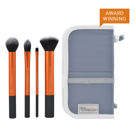 Real Techniques Real Techniques by Samantha Chapman Core Collection Brush Set – Available in Different Sized Sets