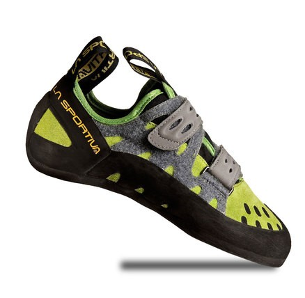 La Sportiva Men's Tarantula Climbing Shoes – Leather, Quick Pull Lace Harness with Lined Tongue, All Around Performer