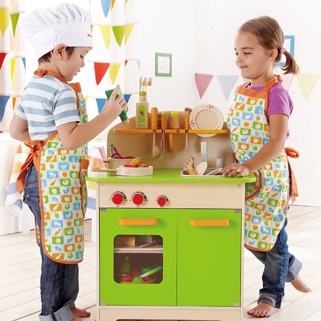 Hape Gourmet Wood Toy Kitchen