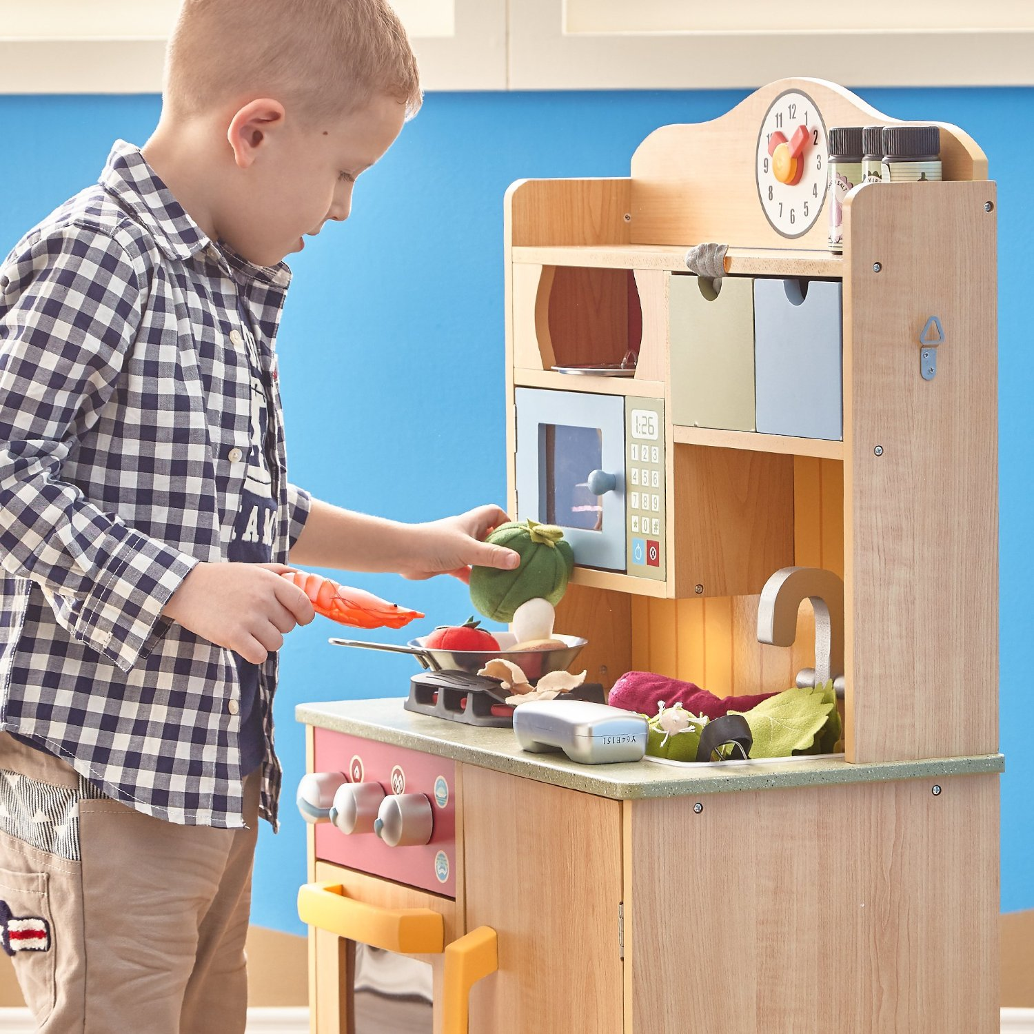Teamson Kids Wooden Kitchen Playset