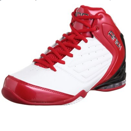 AND1 Men's Master 2 Mid Basketball Shoe