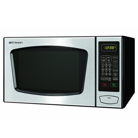 Emerson Radio Touch Control Countertop Microwave Oven