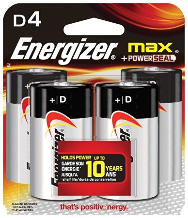 Energizer® MAX® D Battery