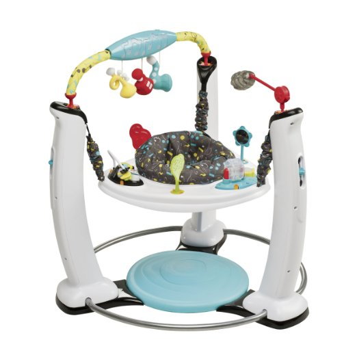 Evenflo ExerSaucer Jump and Learn Stationary Jumper – Available in 5 Colors