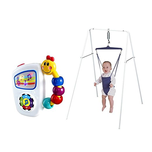 Jolly Jumper Exerciser With Stand