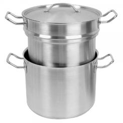 Winware Stainless Steel Double Boiler & Stock Pot