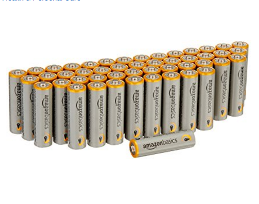 AmazonBasics AA Performance Alkaline Batteries