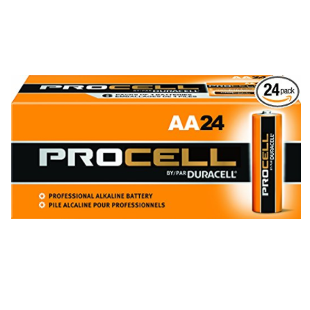 Duracell Procell Professional Alkaline Batteries