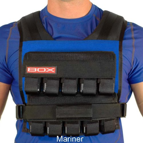 Box Adjustable Weighted Workout Vest