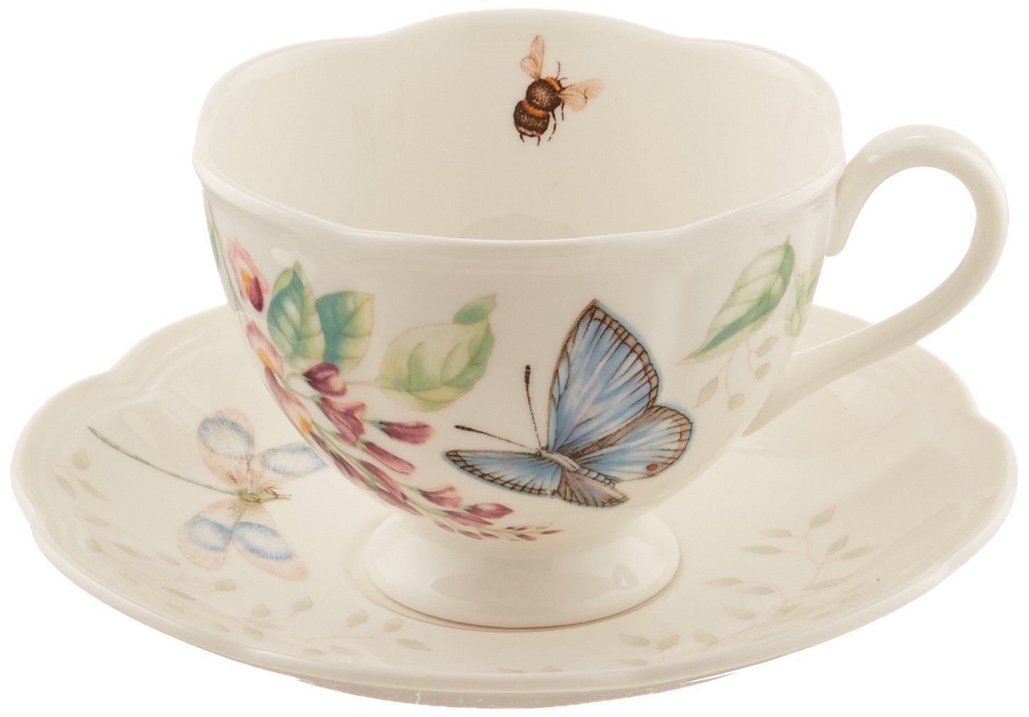 Lenox Butterfly Meadow® Monarch Cup & Saucer