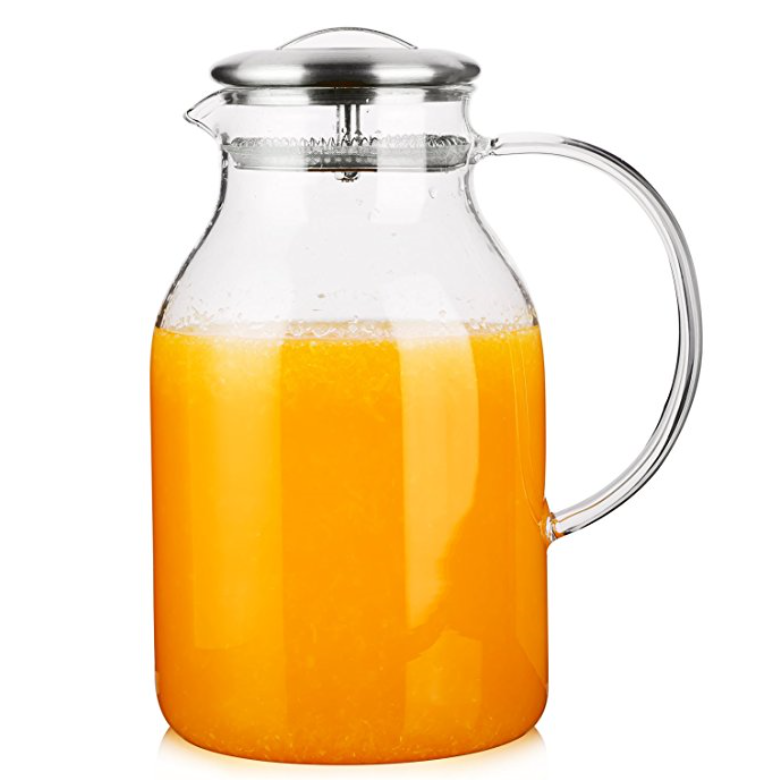 Hiware 68-Ounce Glass Pitcher