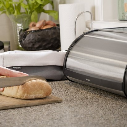 Brabantia Fall Front Bread Box