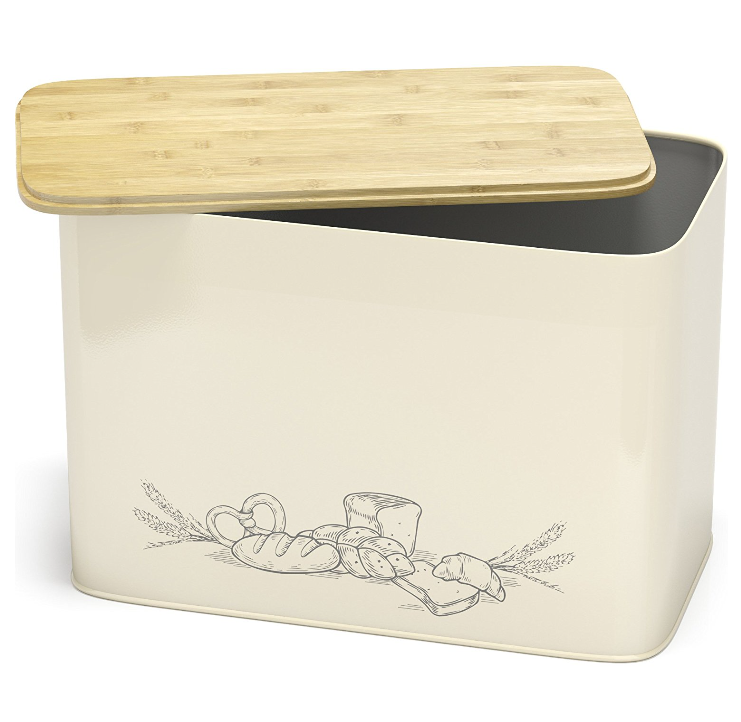 Cooler Kitchen Large Vertical Bread Box
