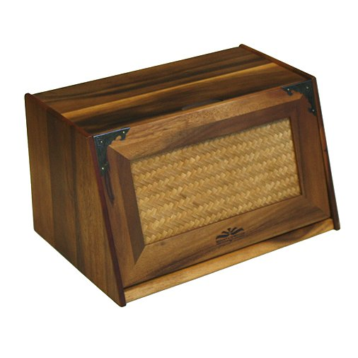 Mountain Woods Acacia Wood Bread Box