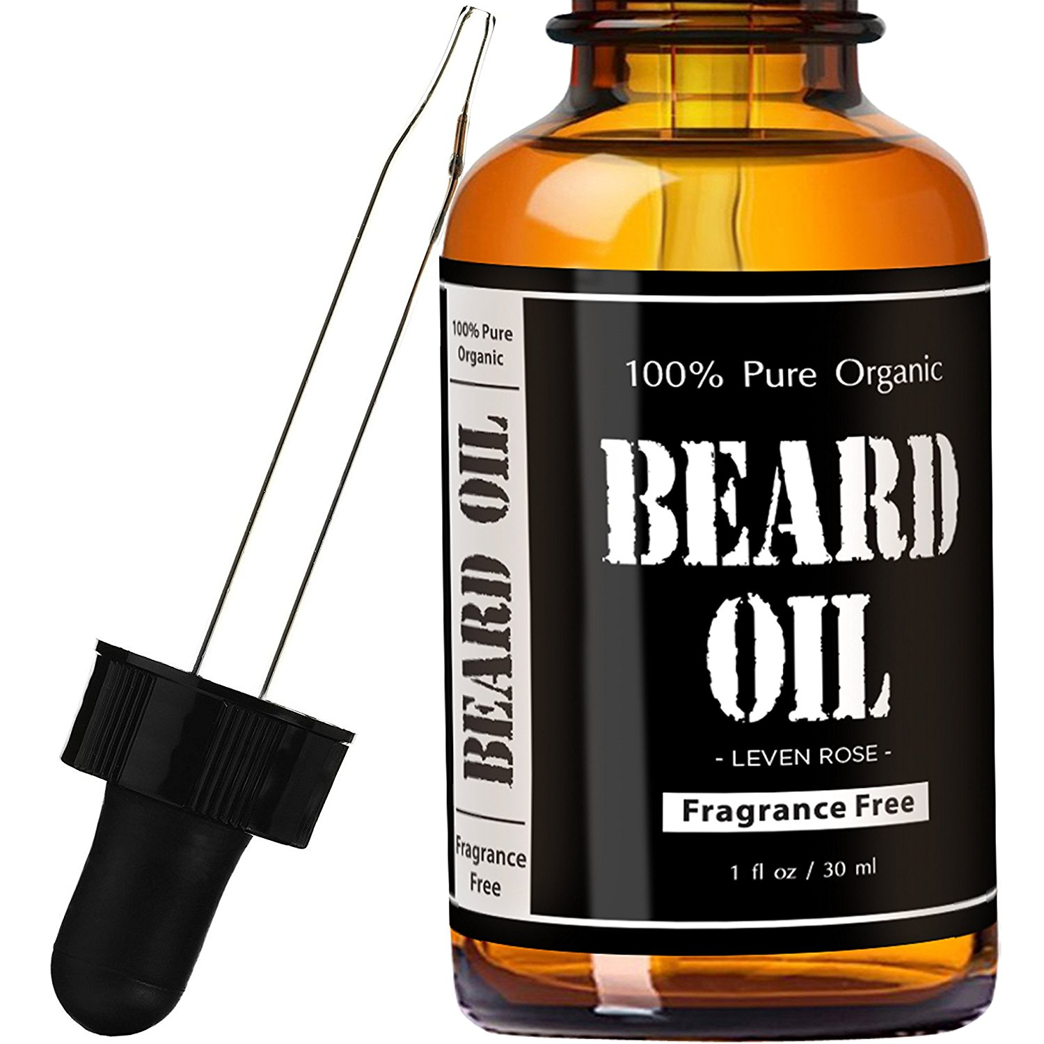 Leven Rose Fragrance Free Beard Oil