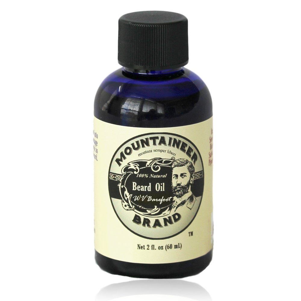 Mountaineer Brand WV Barefoot Beard Oil