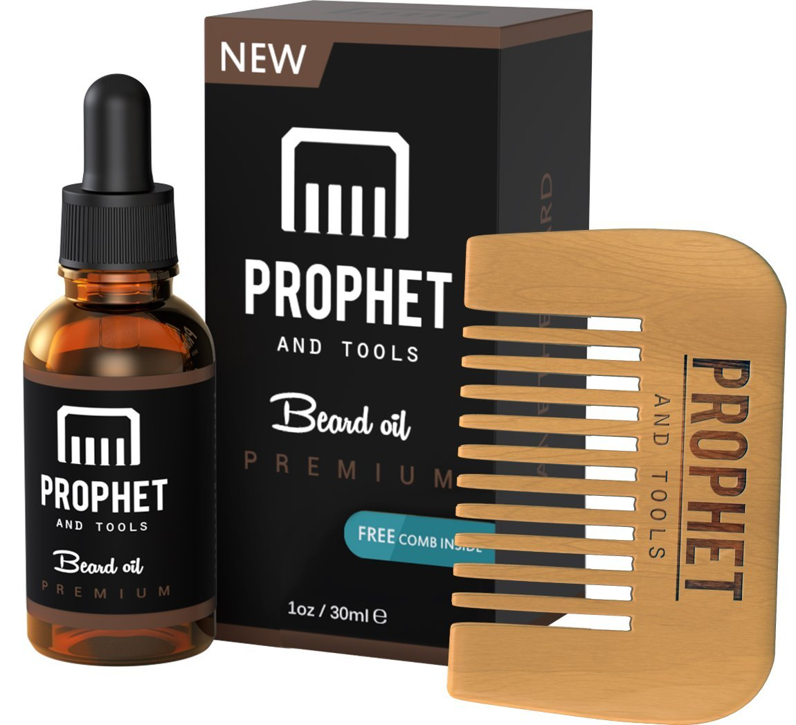 Prophet and Tools Premium Edition Beard Oil Set