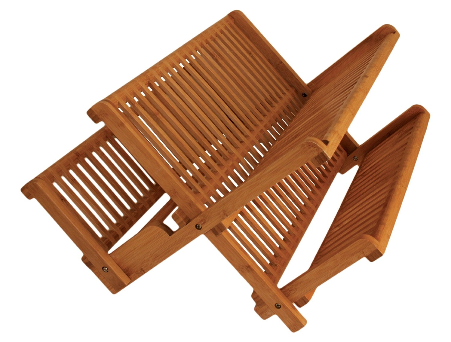 Totally Bamboo Folding Dish Drying Rack