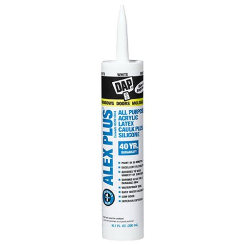 Dap Alex Plus Acrylic Latex Caulk with Silicone