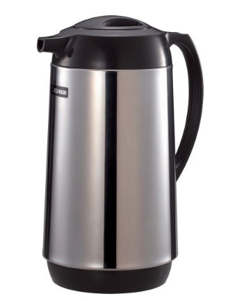 Zojirushi Polished Stainless Steel Vacuum Insulated Thermal Carafe - 1 liter Hot Beverage and Coffee Carafe