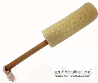 Spa Destinations Loofah Back Brush