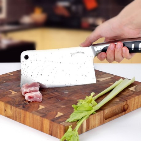 Utopia Kitchen Stainless Steel Cleaver Knife
