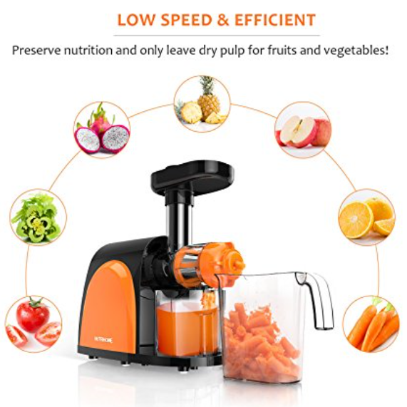 Nutrihome Slow Masticating Juicer