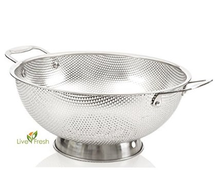 LiveFresh Micro-perforated Colander