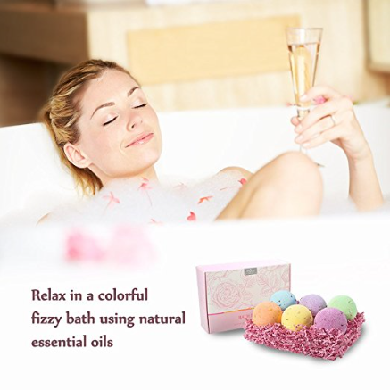 Anjou 6-Pack Bath Bomb Gift Set