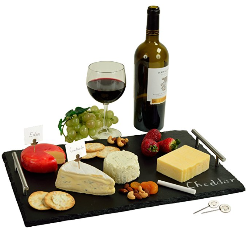 Picnic at Ascot Natural Slate Cheese Board