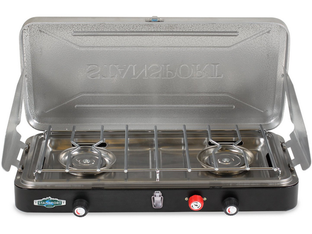Stansport 2 Burner Propane Stove